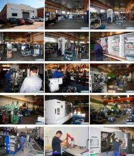 Reivax Máquinas S.L., fabricación de máquinas para producir piezas de alambre.